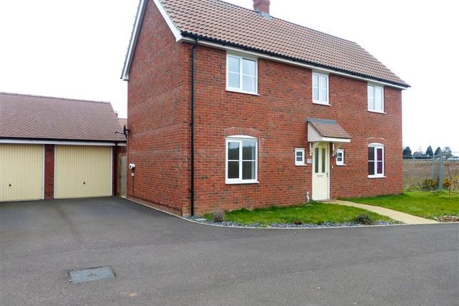 Thumbnail Detached house to rent in Maidenhair Way, Red Lodge, Bury St. Edmunds
