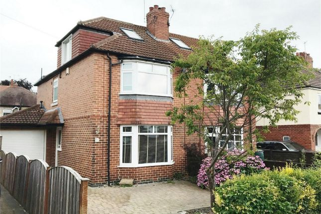 Thumbnail Semi-detached house to rent in Moorgarth Avenue, York