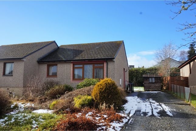 Thumbnail Semi-detached bungalow for sale in Knockard Avenue, Pitlochry