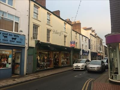 Thumbnail Retail premises for sale in 61-65 High Street, Pwllheli