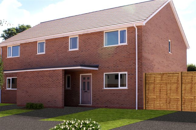 Thumbnail Semi-detached house for sale in Birch Meadows, Battenhall Road, Worcester, Worcestershire
