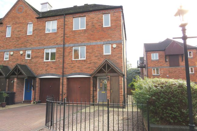 Thumbnail Town house for sale in Round Hill Wharf, Kidderminster