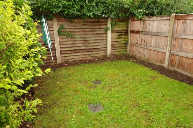 Private Rear Garden: