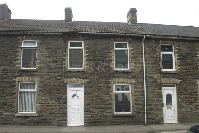 Thumbnail Terraced house to rent in Risca Road, Cross Keys, Newport.