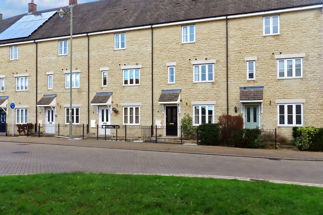 Thumbnail Terraced house to rent in Bluebell Way, Carterton, Oxfordshire