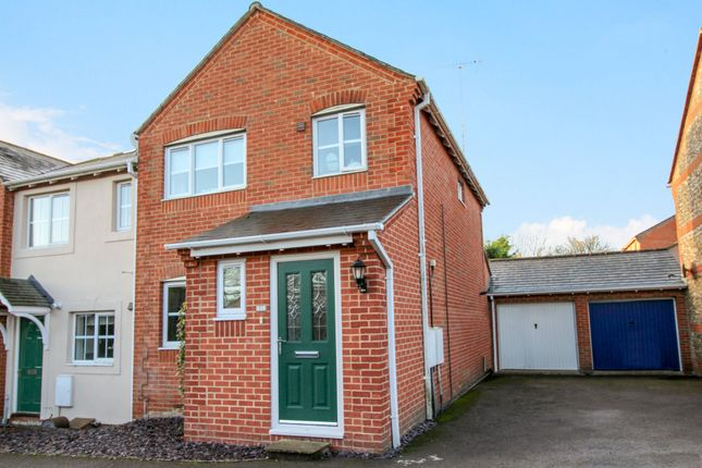 Thumbnail End terrace house for sale in Rockfel Road, Lambourn, Hungerford