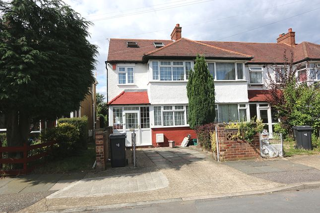 Thumbnail Semi-detached house to rent in Woodfield Gardens, New Malden