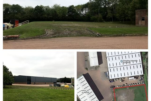 Industrial to let in Open Storage Land, Sopwith Way, Daventry