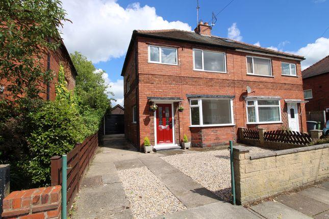 Thumbnail Semi-detached house for sale in Danum Road, York