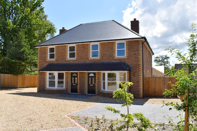 Thumbnail Semi-detached house for sale in Woolsbridge Road, St Leonards, Ringwood