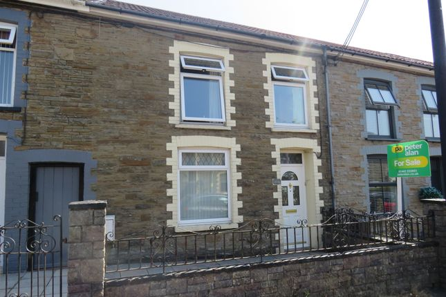 3 bed terraced house for sale in High Street, Tonyrefail, Porth CF39