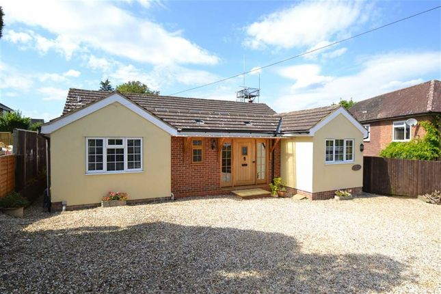 Thumbnail Detached bungalow for sale in The Dell, Kingsclere, Berkshire