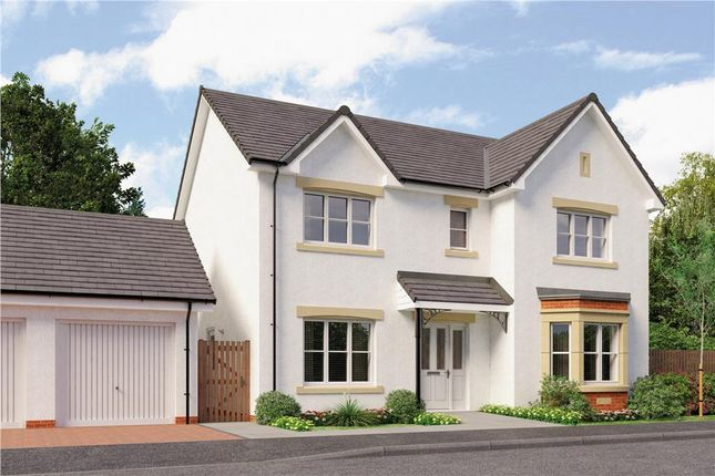 "Thumbnail Detached house for sale in ""Kennaway"" at Broomhouse Crescent, Uddingston, Glasgow"