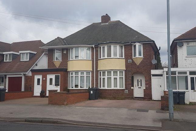 Thumbnail Semi-detached house for sale in Rocky Lane, Birmingham