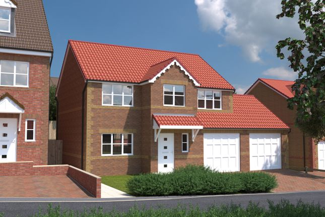 Thumbnail Detached house for sale in Treetops, Common Road, South Kirkby