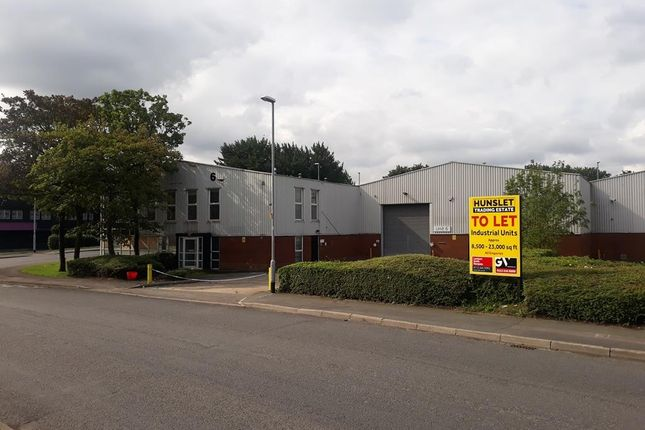 Thumbnail Warehouse to let in Unit 6, Hunslet Trading Estate, Severn Road, Leeds, West Yorkshire