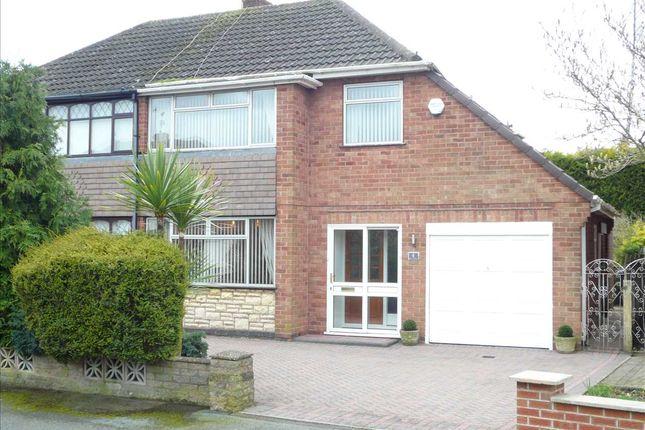 Thumbnail Semi-detached house for sale in Overseal Road, Wednesfield, Wednesfield