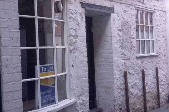 Thumbnail Commercial property to let in Hopkins Passage, Welshpool, Powys