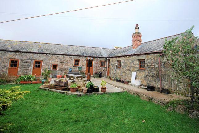 Thumbnail Detached house for sale in Parc-An-Cady Farm, St. Buryan, Penzance