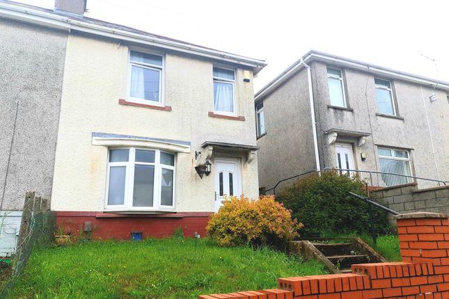 2 bed semi-detached house for sale in Brynhyfryd Road, Briton Ferry, Neath SA11