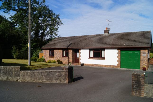 Thumbnail Detached bungalow for sale in Pentrecwrt, Llandysul