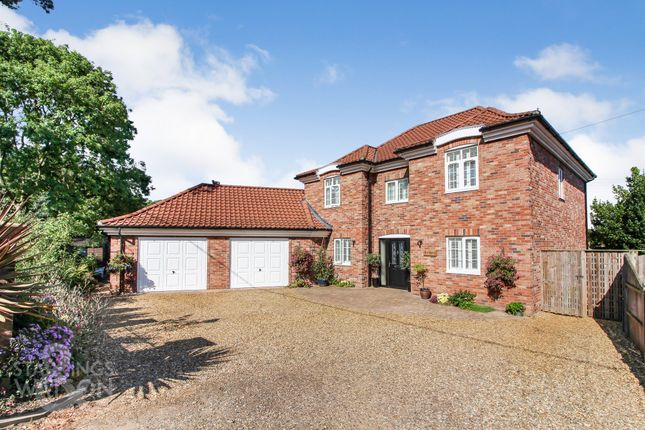 4 bed detached house for sale in Hemblington Road, Strumpshaw, Norwich NR13