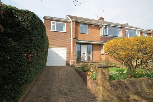 Thumbnail Semi-detached house for sale in Hermitage Park, Chester Le Street