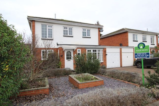 Thumbnail Detached house for sale in Manor Leaze, Egham