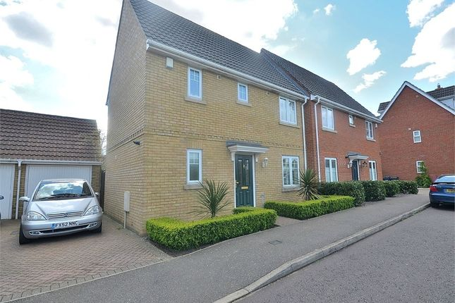 Thumbnail Detached house to rent in Chestnut View, Dunmow