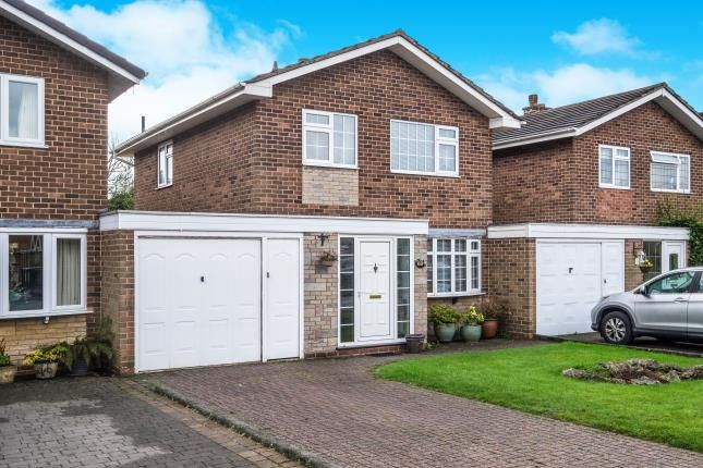 Thumbnail Link-detached house for sale in Northdown Road, Solihull, West Midlands