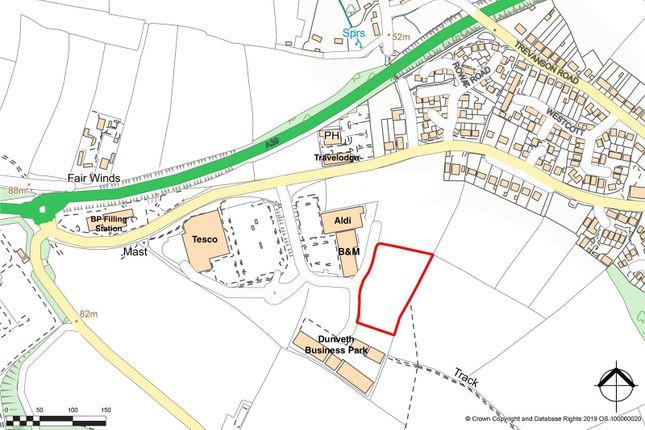 Thumbnail Land for sale in Land At Dunveth Business Park, West Hill, Wadebridge, Cornwall