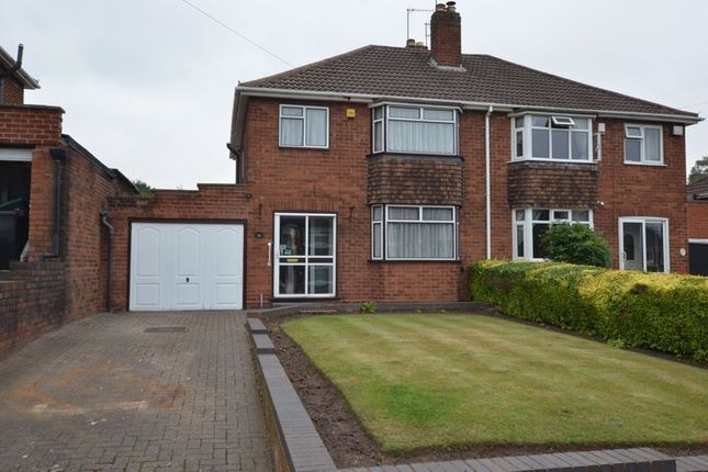 Thumbnail Semi-detached house for sale in The Straits, Dudley