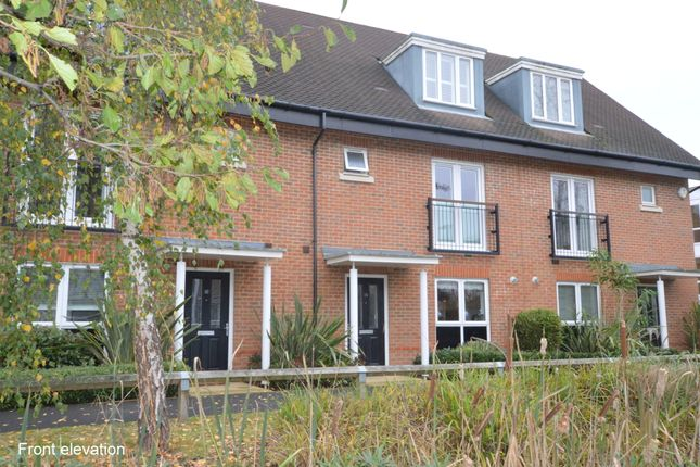Thumbnail Terraced house to rent in Reeds Meadow, Redhill, Surrey