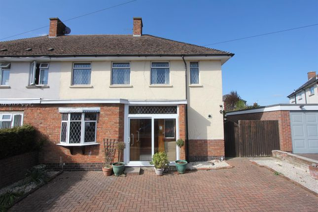 Thumbnail Semi-detached house for sale in Pougher Close, Sapcote, Leicester