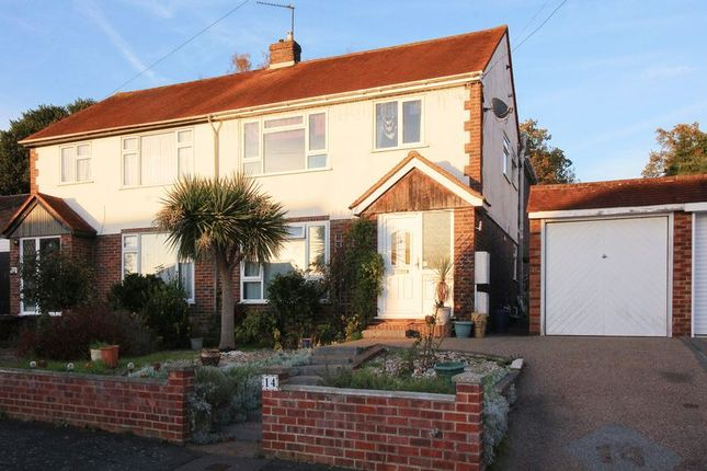 Thumbnail Semi-detached house for sale in Wilderness Road, Frimley, Camberley