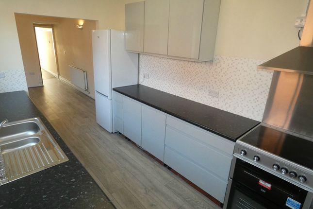 Thumbnail End terrace house to rent in Stanley Road, Hartshill, Stoke-On-Trent