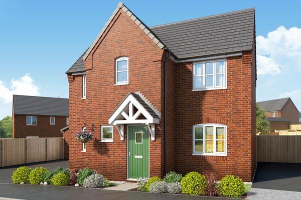 "Thumbnail Property for sale in ""The Blackthorne At Mill Farm, Tibshelf"" at Mansfield Road, Tibshelf, Alfreton"
