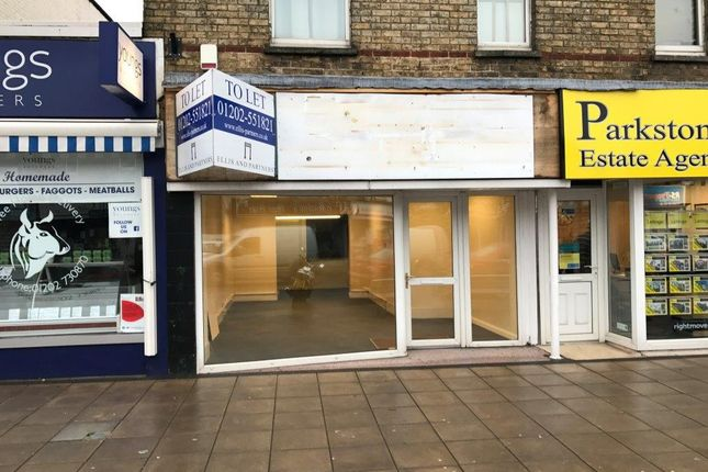 Thumbnail Retail premises to let in 316 Ashley Road, Parkstone, Poole, Dorset