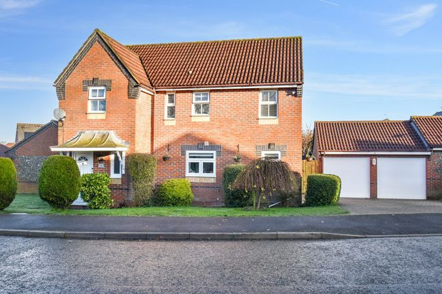 Detached house for sale in Lowry Close, Haverhill