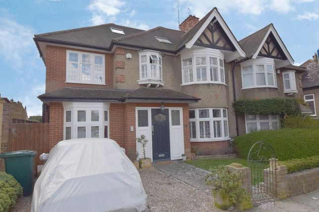 Thumbnail Semi-detached house to rent in Cyprus Avenue, Finchley