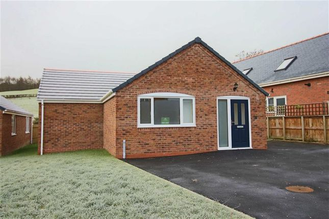 Thumbnail Bungalow for sale in Plot 37, Swallows Meadow, Castle Caereinion, Welshpool, Powys
