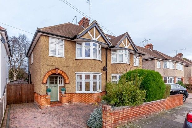 Thumbnail Semi-detached house for sale in Oaklands Crescent, Chelmsford