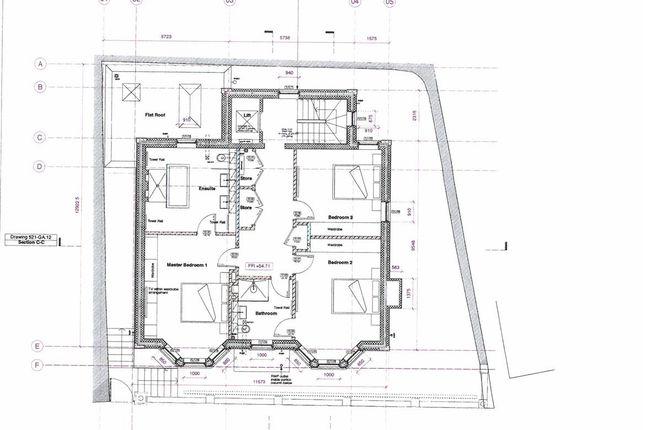 First Floor Plan of Polkirt Hill, Mevagissey, St. Austell PL26