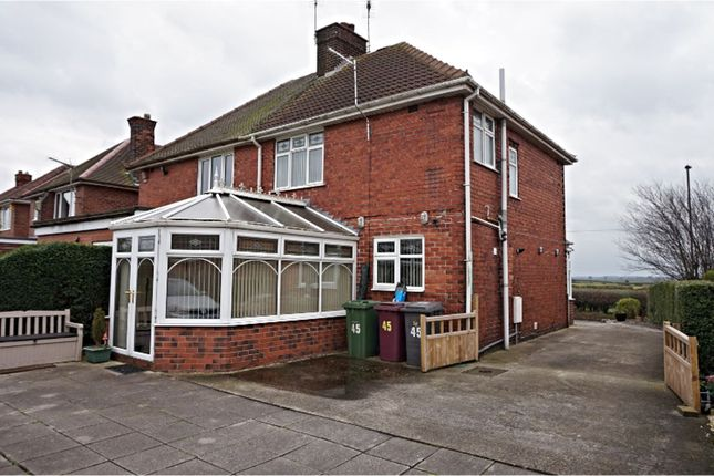 Semi-detached house in  Mansfield Road  Chesterfield  Sheffield