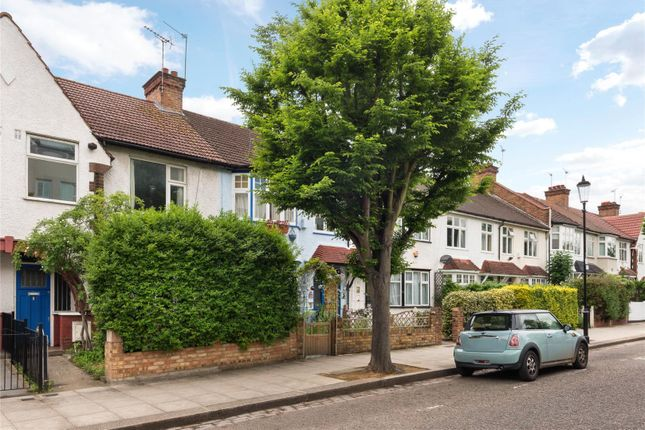 Thumbnail Terraced house for sale in Pangbourne Avenue, London
