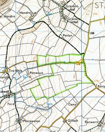 Land for sale in Land Part Of, Trerhys, St Dogmaels, Pembrokeshire