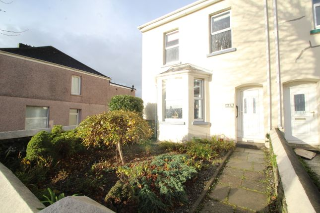 Thumbnail End terrace house for sale in Normandy Way, Plymouth