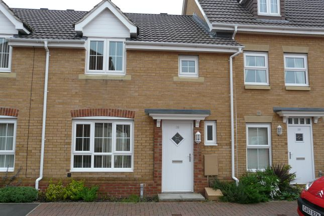 Thumbnail Terraced house to rent in Small Meadow Court, Park View, Caerphilly