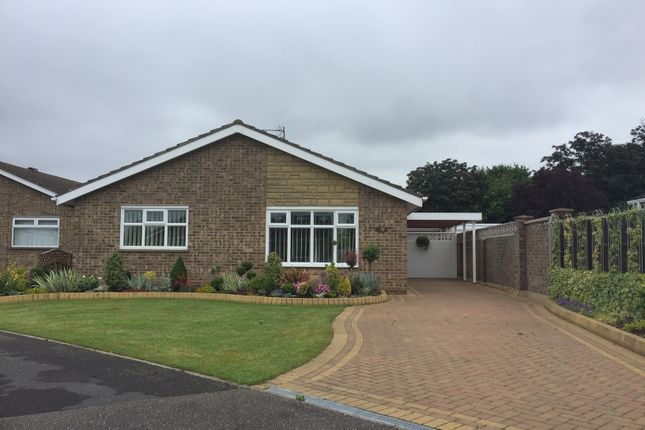 Thumbnail Bungalow to rent in Valence Road, Orton Waterville