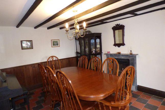 Dining Room of Penffordd, Clynderwen SA66